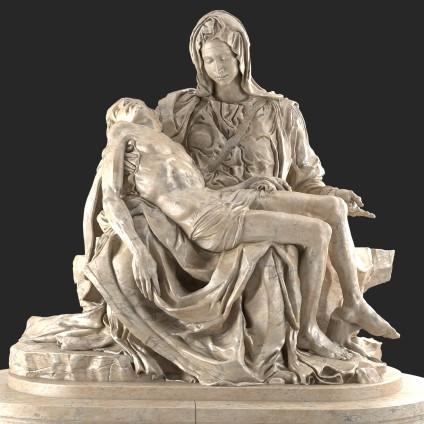 'Pieta', Michelangelo (1498-1499)