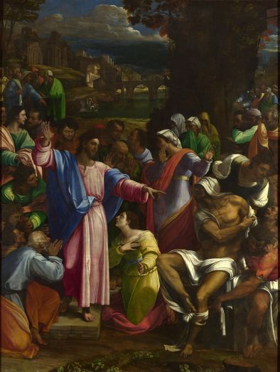 'The Raising of Lazarus', Sebastiano del Piombo (1517-1519)
