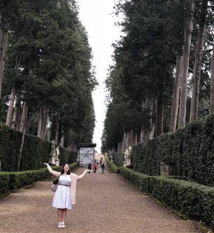 Under the Cypress Trees in Boboli Gardens