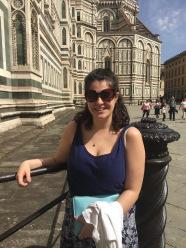 Queueing to enter the Duomo