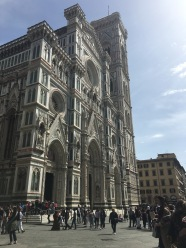 Front of the Duomo