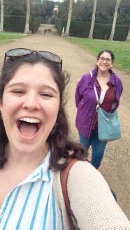 Walking through Boboli Gardens